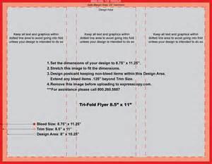 flyer amp brochure print specifications expresscopy com
