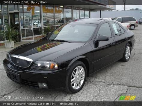 black 2003 lincoln ls v8 black interior gtcarlot