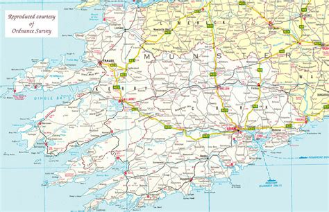 county cork ireland map destination ireland county cork guide