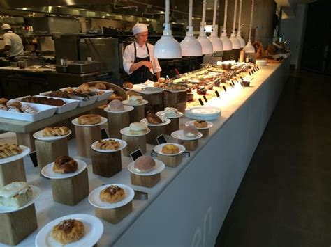 breakfast buffet picture of oru cuisine vancouver