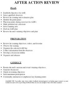 army after review template after review armystudyguide