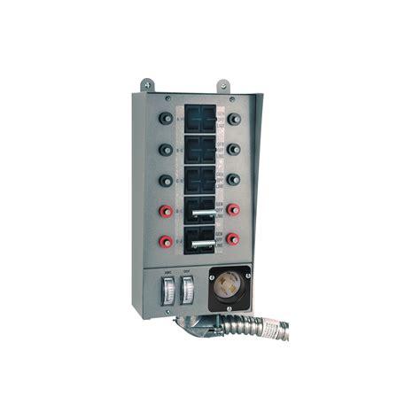 Switch Genset 100 manual transfer switch wiring diagram generac