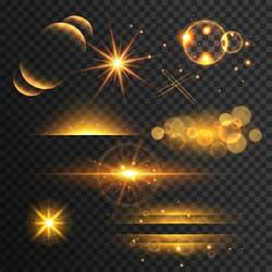plano lights light effects collection vector free