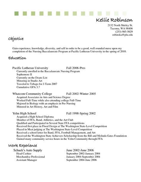 wonderful resume currently in college gallery resume