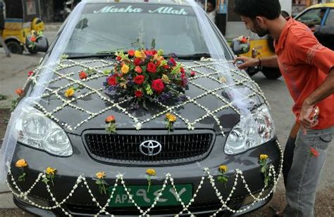 Wedding Car Decoration Pictures In Pakistan by Wedding Car Decoration Fashion In New Look