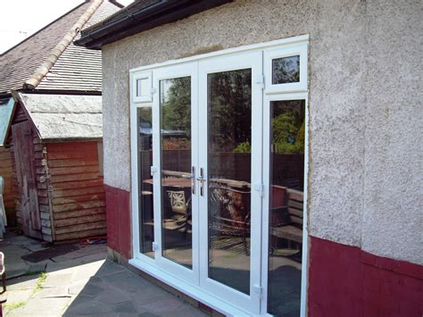 French Doors Sidelights with opening fanlights   SCI Windows