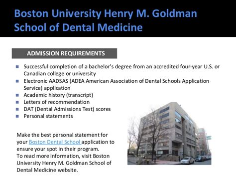 best dental school top dental schools admission requirements