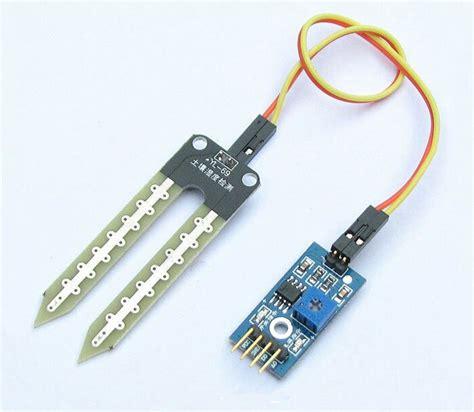 Sensor Kelembaban Tanah Soil Moisture Sensor Module Hygrometer Modul 1 soil moisture sensor arduino sensor kelembapan tanah ph tanah jual arduino jual arduino