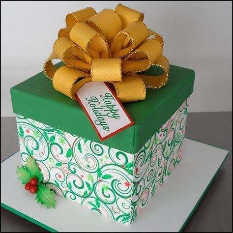 christmas gift box fondant cake 17 best images about gift bag cakes on baby shower pink gift box cakes and cus d amato