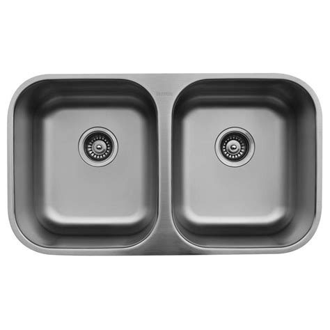 Bowl Undermount Stainless Steel Kitchen Sink by Foret Undermount Stainless Steel 30 In 0