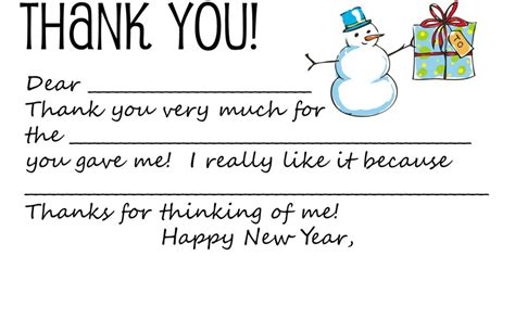 Download Printable Holiday Thank You Note Template For Kids Dabbled Thank You Note Cards Template