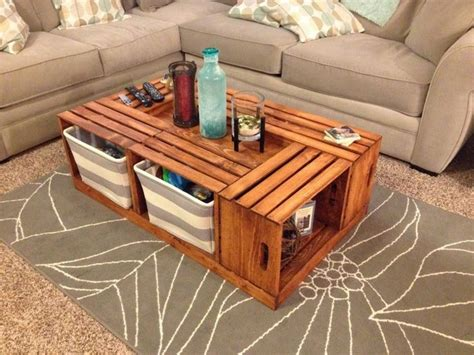 best 25 crate coffee tables ideas on wine
