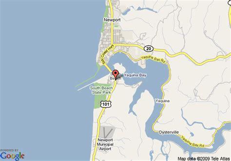 map of oregon newport map of la quinta newport south