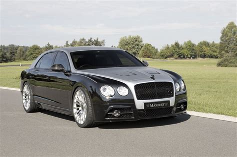 custom bentley flying spur official mansory bentley flying spur gtspirit