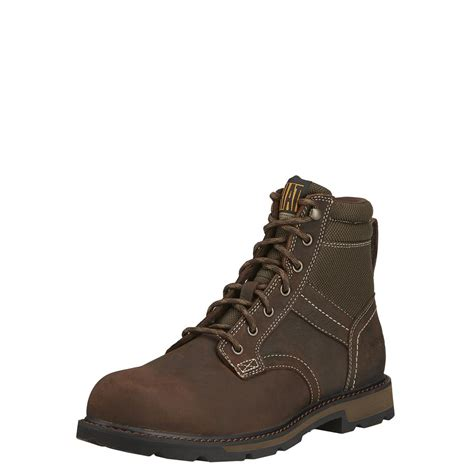 ariat steel toe boots ariat 6 quot groundbreaker h20 waterproof steel toe work boots
