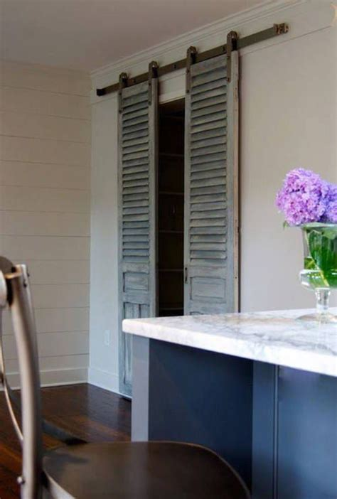rolling closet doors use shutters as beautiful rolling closet doors so