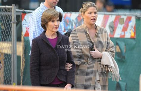 jenna bush hager welcomes daughter margaret laura moms jenna bush takes baby mila out for a stroll in new york
