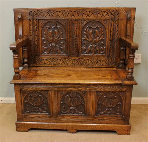 antique monks bench for sale antique oak monks bench hall seat settle antiques atlas
