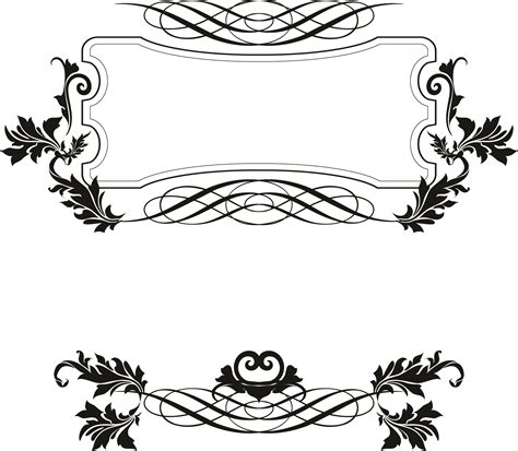 pattern line border 15 fancy vector borders images free vector decorative