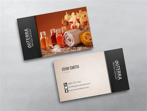 doterra business card template photos of doterra business cards business cards