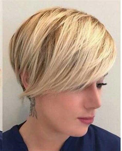 Layered Short Haircuts for Round Face 2018   Hairiz
