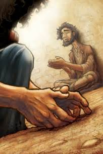 healing the blind jesus heals a blind by eikonik on deviantart