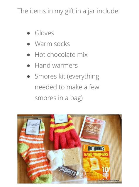 keep warm gift kit in a jar musely