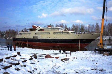 the boat connection in the nizhny novgorod region launched the boat connection