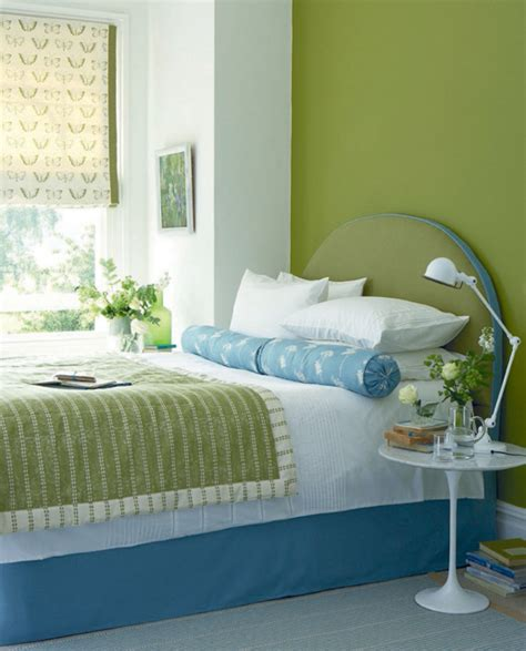 Blue Green Bedroom | 69 colorful bedroom design ideas digsdigs