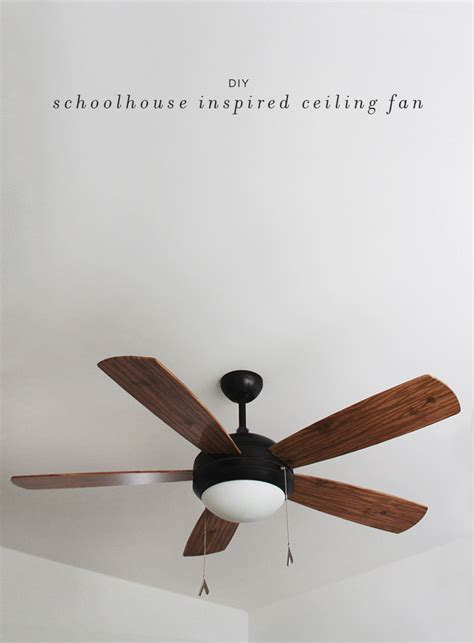 schoolhouse light ceiling fan diy schoolhouse ceiling fan almost makes perfect