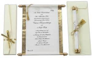 wedding scroll invitations template best template collection