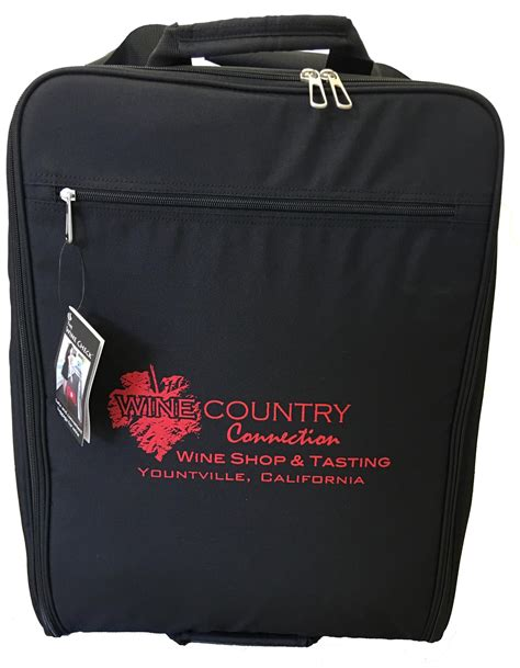 the wine check bag wine country connection
