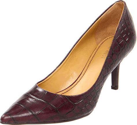 Gucci Pevita Austiene Heels 50729 nine west nine west womens in purple wine croc lyst