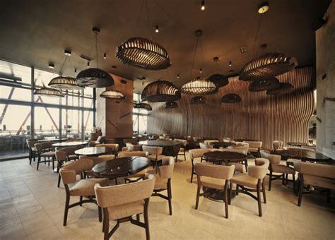 coffee house cafe don caf 233 house inspired interiors transport you inside a sack full of coffee beans