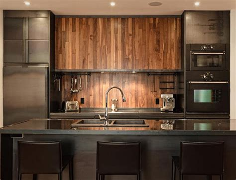 wood backsplash kitchen wood house with kitchen appliances