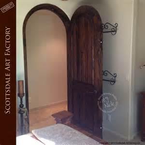 arched wood interior doors custom designer door