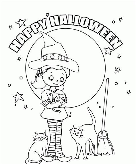 halloween coloring pages elementary school prek coloring pages halloween az coloring pages
