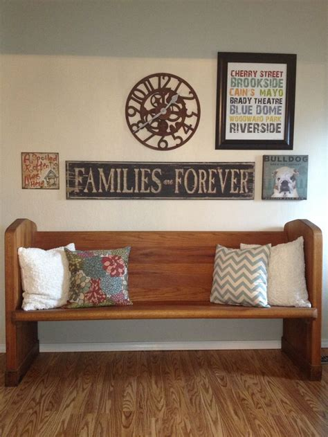 church pew home decor pin by lori dostaler on church pew ideas pinterest