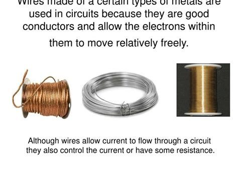 conductors and resistors ppt electric current ohm s resistance powerpoint presentation id 4797370