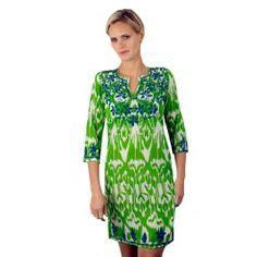 Ikat Palem Dress palm chic on palm palm