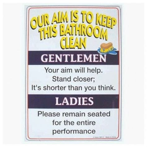 stupid bathroom signs 10 best images about bathroom signs on pinterest