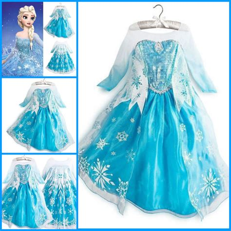 Hm Dress Princess Fit L frozen princess elsa school costume dress dresses size 3t 4 5 6 7 8t ebay