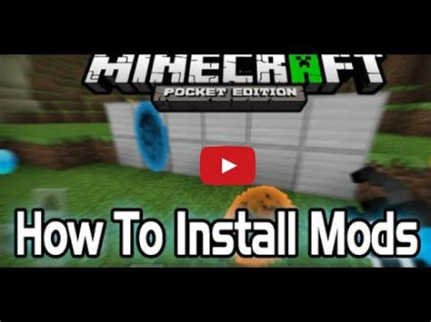 mods in minecraft how to install how to install mods in minecraft pe 0 15 4 without block