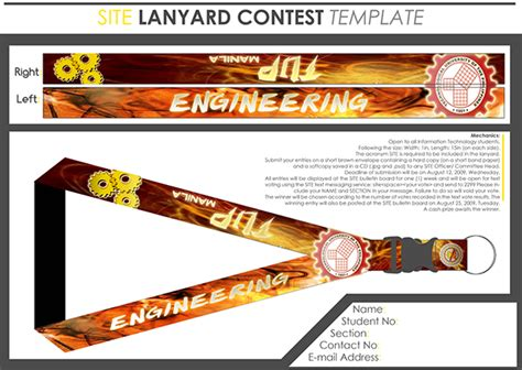 lanyard layout photoshop lanyard design on behance