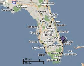 map jupiter florida sighting reports 2010