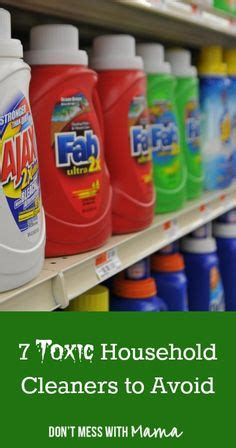 toxic household cleaners natural and non toxic cleaning on pinterest