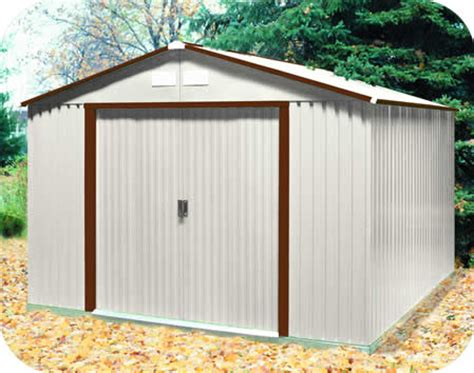 10 X 10 Aluminum Shed by A 10x10 Metal Storage Houses Plans Designs