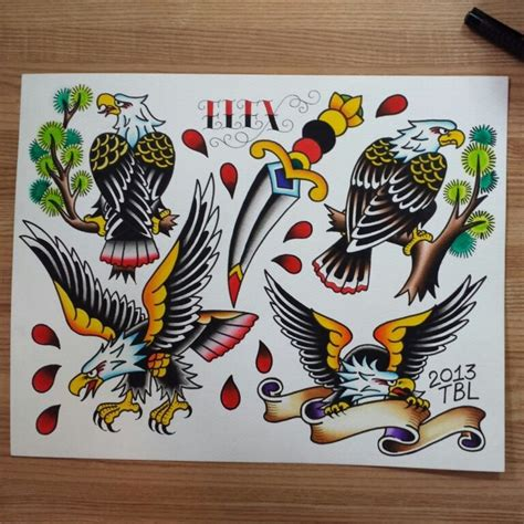Eagle Flash by Eagle Flash Sheet Paintings Eagles