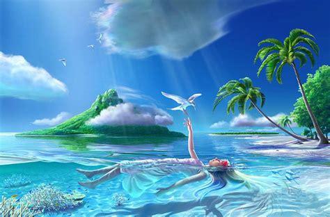 imagenes hermosas en 3d paisajes hermosos para fondo de pantalla en 3d con