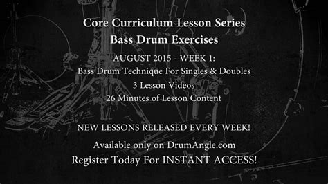 Superior Drummer 2 Explained Tutorial Lession Drum Ste bass drum technique drumangle drumming from a